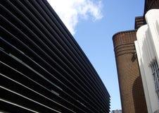 曲线剧院,莱斯特,英国 库存照片