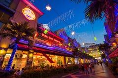 曲线商城Damansara 免版税库存照片