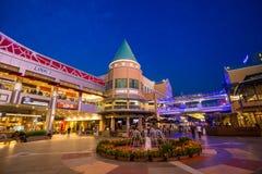 曲线商城Damansara 库存图片