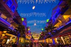 曲线商城Damansara 免版税图库摄影
