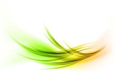 曲线绿色 皇族释放例证