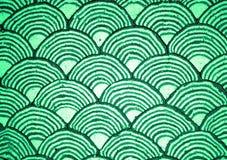 曲线绿色 免版税库存图片