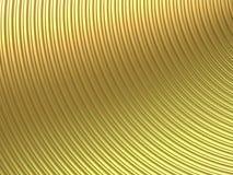 曲线金子 向量例证