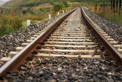 曲线铁路运输培训 库存图片