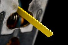 曲线锯的刀片 库存图片