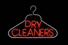 更加干净的干燥挂衣架符号 免版税库存图片