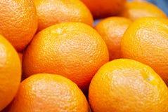 更加橙色的然后桔子 库存照片