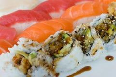 更多寿司 库存图片