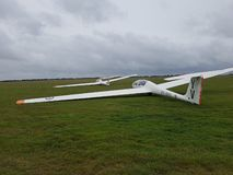 更多滑翔机 图库摄影