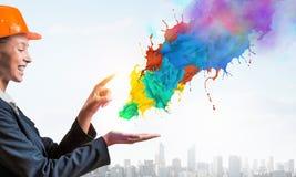 更多颜色对您的生活 免版税库存照片
