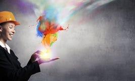 更多颜色对您的生活 免版税库存图片