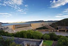 更宽水坝的gariep 免版税库存照片
