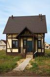 更小房子新的销售额 免版税库存照片