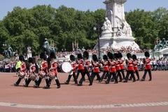 更改的卫兵伦敦 免版税库存照片