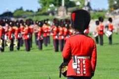更改的卫兵小山渥太华议会 库存照片