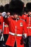 更改的卫兵小山渥太华议会 免版税库存照片