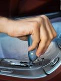 更改的驱动器现有量s速度 免版税库存图片