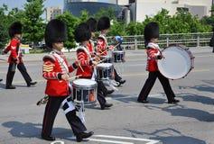 更改的鼓手守卫渥太华 库存图片