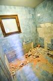 更新和重建家庭房子或公寓ba内部  库存照片