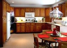 更旧厨房 库存照片