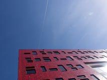 更高的大学阿莫斯福特 免版税库存图片