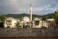 曹里瑙清真寺-萨拉热窝 图库摄影