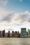 曼哈顿东边,纽约 免版税库存图片