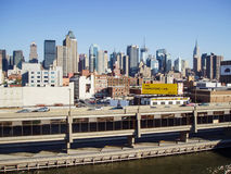 曼哈顿中城码头 库存照片