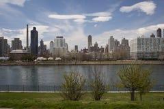 曼哈顿中城 免版税库存照片