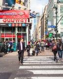 曼哈顿中城NYC 免版税库存图片