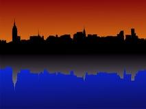 曼哈顿中间地区纽约 免版税库存照片