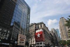 曼哈顿中间地区 图库摄影