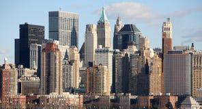 曼哈顿中间地区 库存照片