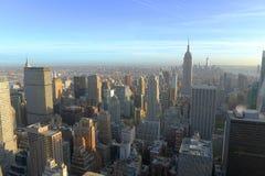 曼哈顿中间地区地平线,纽约城 免版税图库摄影