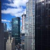 曼哈顿中间地区视图 库存照片