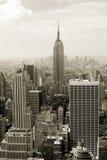 曼哈顿全景 库存照片