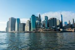 曼哈顿全景 免版税库存照片
