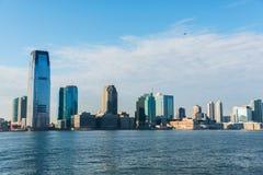 曼哈顿全景 免版税库存图片