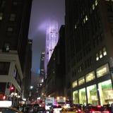 曼哈顿大厦 库存图片