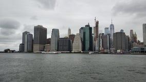 曼哈顿巨大看法  免版税库存照片