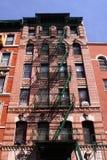 曼哈顿廉价公寓 免版税库存照片