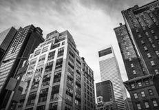 曼哈顿建筑学 库存照片