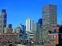 曼哈顿新的视图约克 免版税库存照片