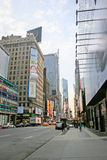 曼哈顿方形时间 图库摄影