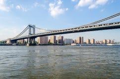 曼哈顿桥梁,纽约 免版税库存照片