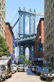 曼哈顿桥梁,纽约 免版税库存图片
