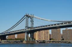 曼哈顿桥梁 免版税库存图片