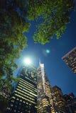曼哈顿百老汇视图 库存图片