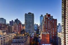 曼哈顿的东边天线  免版税库存图片