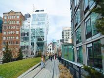 曼哈顿纽约生产线上限公园 图库摄影